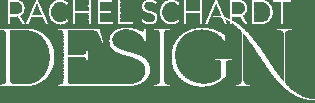 rachel schardt design logo