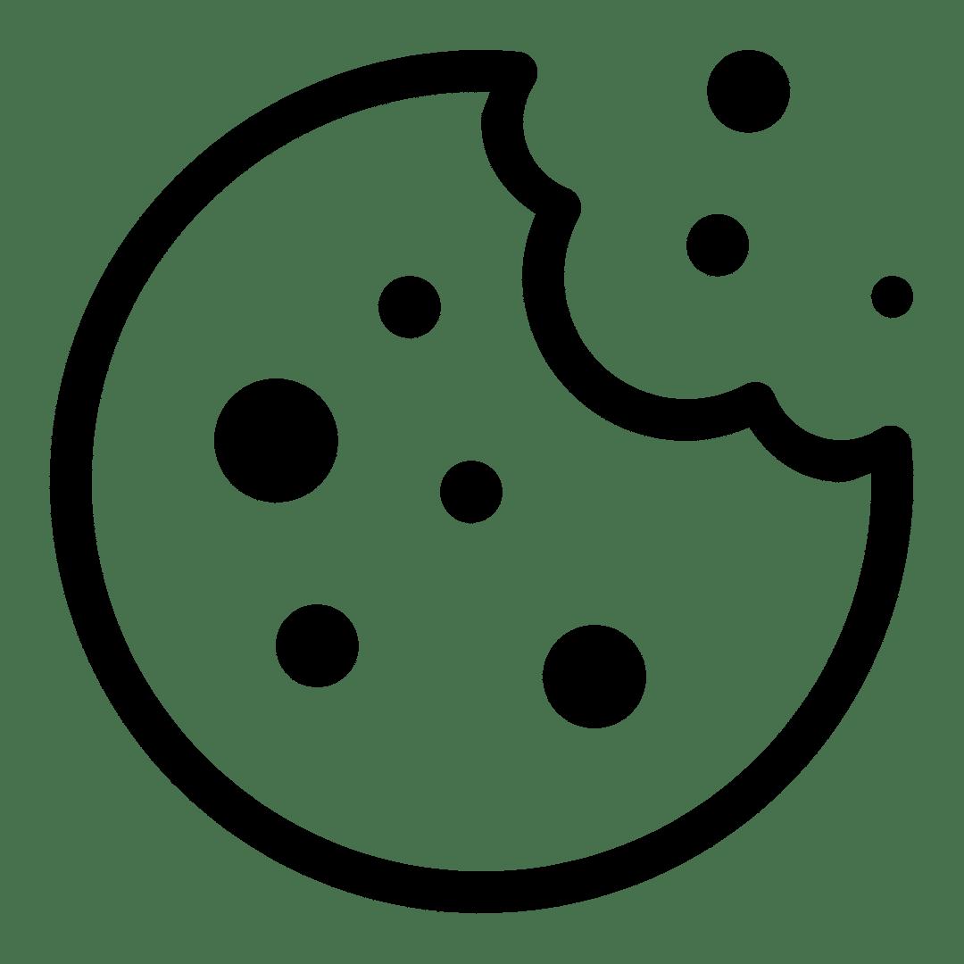 hand drawn cookie